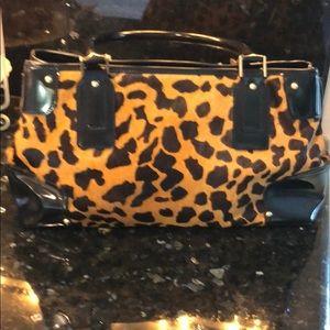 Talbots cheetah print handbag